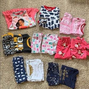 3T toddler pajamas lot - great condition!